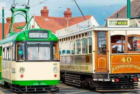 Blackpool Heritage and Tram Tours - All day heritage tram travel card for 2 - Save 27%