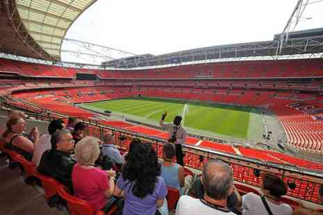 Wembley Stadium - Wembley Stadium tour for two people follow in the footsteps of legends - Save 53%