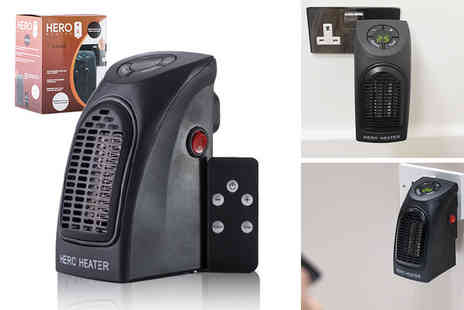 Ethome - Hero heater with remote control - Save 60%