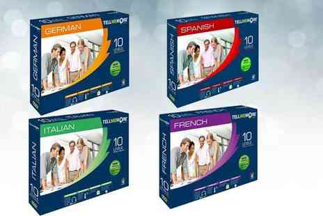 Wiseloads Software - Rosetta Stone Tell Me More DVD language course Choose from Spanish, French, Italian And German - Save 75%