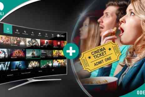 Chili TV - £10 Towards the Newest Movies - Save 75%