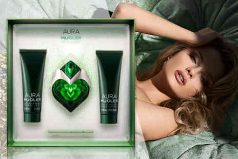 Deals Direct - Three piece Aura Mugler gift set - Save 13%