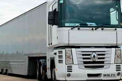 Experience Megastore - Lorry Driving Experience for One or Two - Save 0%