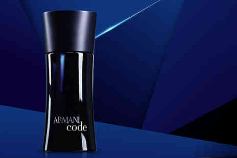 Deals Direct - 30ml bottle of Armani Code eau de toilette for men - Save 16%