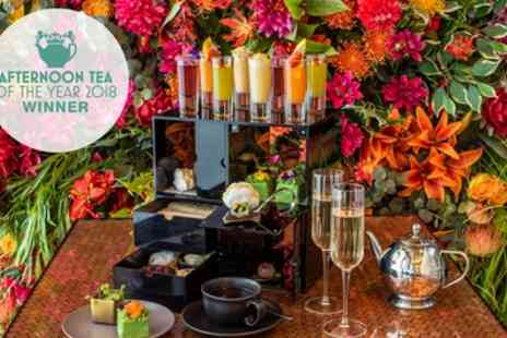 W London - Award Winning Afternoon Tea with Optional Bubbly for One or Two - Save 46%