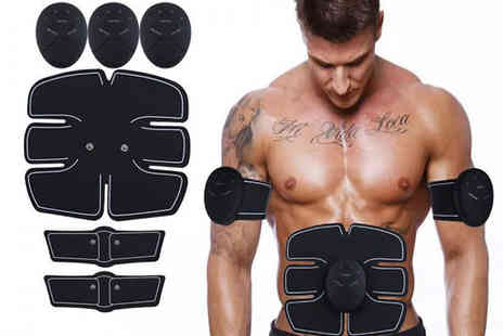 HXT Goods - Abs Stimulator with Optional Arm Pads - Save 87%