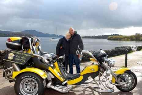 Trike Tours Scotland - Trike Tour and Photoshoot For Two - Save 60%