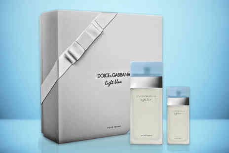 Deals Direct - Dolce And Gabbana Light Blue gift set - Save 12%
