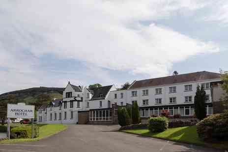 The Arrochar Hotel - One or two night stay for two people with breakfast, glass of fizz each and three course dining or £40 food and beverage voucher - Save 43%