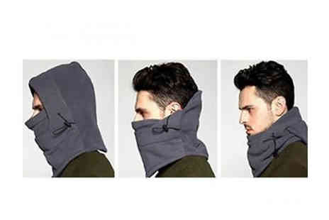 Snap One Up - Unisex Thermal Fleece Balaclava Choose from 7 Colours - Save 72%