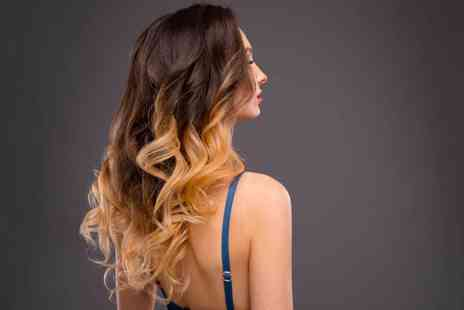Romy Salon - Full head of balayage with a wash, cut and blow dry - Save 68%