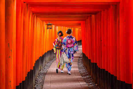 Weekender Breaks - Eight nights Tokyo, Osaka and Kyoto trip and return flights - Save 46%