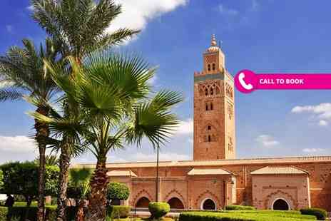 Book It Now Holidays - Two nights all inclusive Marrakech holiday with return flights - Save 43%