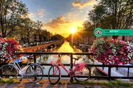 Tour Center - Two nights Amsterdam getaway with return flights - Save 30%
