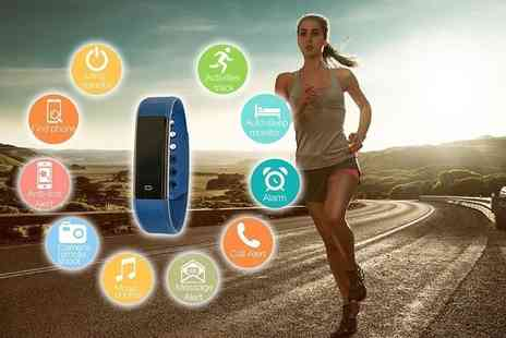 Ckent  - 10 in 1 fitness tracker Choose Five colours - Save 54%