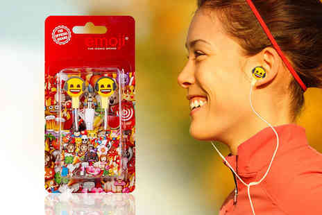 London Exchain Store - Pair of official emoji earbuds - Save 73%