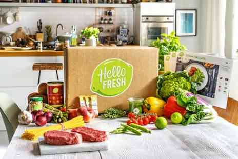 Hello Fresh - One or Two Recipe Boxes with Three Meals for Two or Four - Save 60%