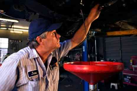 Just the Ticket MOT - 50 Point Car Service with Oil and Filter Change - Save 62%