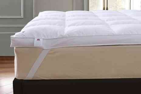 Groupon Goods Global GmbH - Goose Feather and Down 5cm Mattress Topper - Save 80%