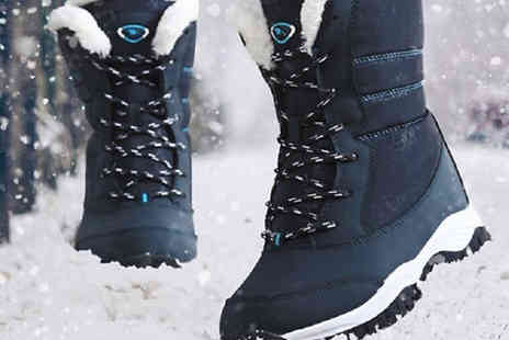 Best mall ever - Faux Fur Thermal Ankle Snow Boots Available in Three Colours - Save 75%