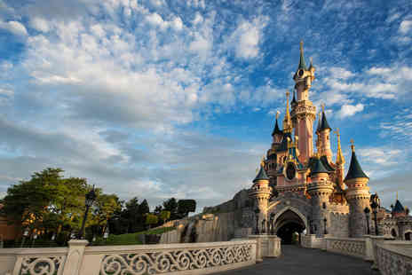 Super Escapes Travel - Two nights Stay Disneyland Paris getaway with breakfast and return flights - Save 34%