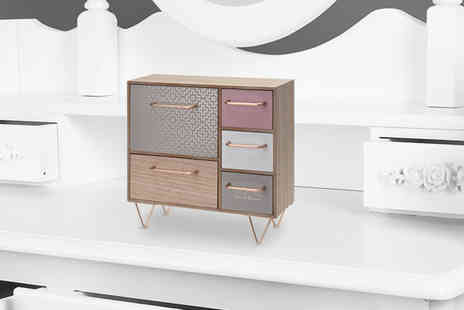 Eurotrade - Mini wooden dresser - Save 64%