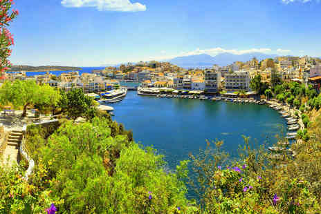 Super Escapes Travel - Seven nights all inclusive Crete holiday with return flights - Save 35%