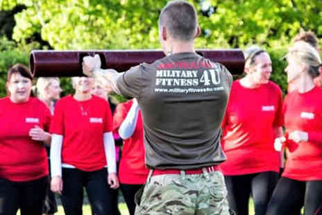 Military Fitness 4 U - Ten military style fitness boot camps - Save 91%