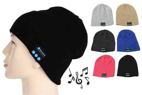 Magic Trend - Bluetooth music hat choose from six colours - Save 78%