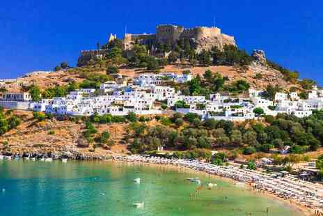 Super Escapes Travel - Five Star Seven night all inclusive Rhodes break with return flights - Save 50%