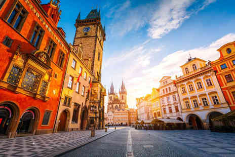 Super Escapes Travel - Two nights Prague break with return flights - Save 37%
