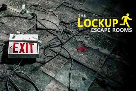 The Lock Up Escape Rooms - One hour escape room game for up to six people - Save 46%