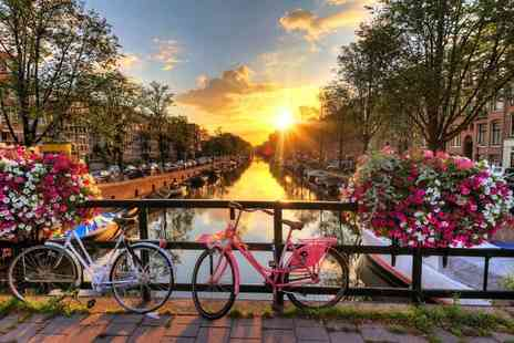 Super Escapes Travel - Two nights central Amsterdam break with return flights - Save 29%
