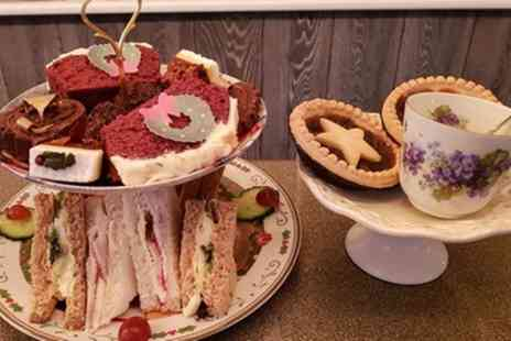 The Blue Whippet Cafe - Afternoon Tea for One or Two People and Dogs - Save 30%