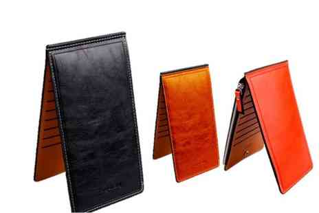 GetGorgeous - Ladies super slim magic wallet choose from three colours - Save 60%
