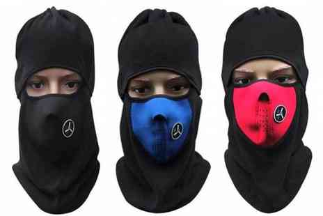 Snap One Up - Winter face and neck balaclava choose from three colours - Save 75%