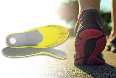 Sole Control - Pair of sole control running insoles - Save 69%