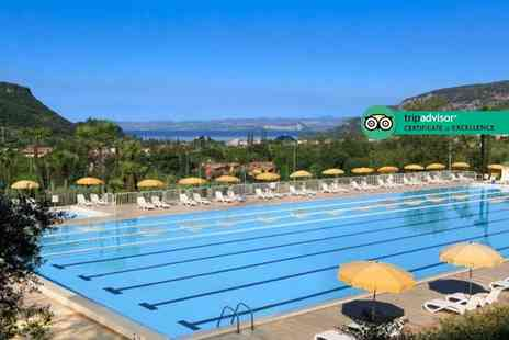 Weekender Breaks - Three nights half board Lake Garda holiday with 3 hour complimentary spa access - Save 28%