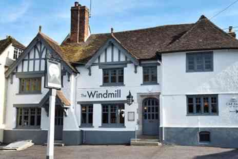 The Windmill - A 3 Course lunch or dinner for two - Save 41%