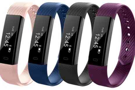 Groupon Goods Global GmbH - One or Two Aquarius AQFW02 Touch Screen Fitness Trackers - Save 67%