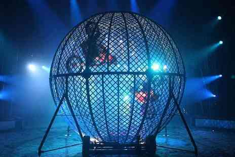 Circus Zyair - Early Bird Tickets Circus Zyair - Save 44%
