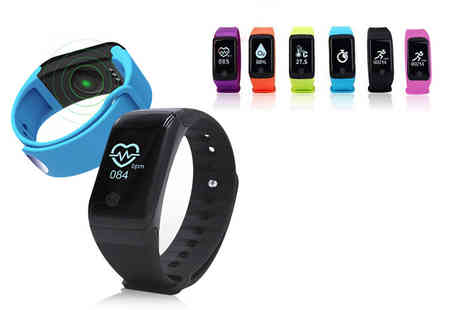 ugoagogo - HR10 Plus fitness tracker smart watch choose between six colours - Save 81%