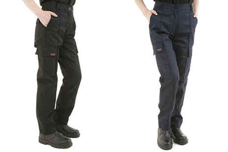 London Shoe Co - Pair of cargo work trousers choose from two colours - Save 0%