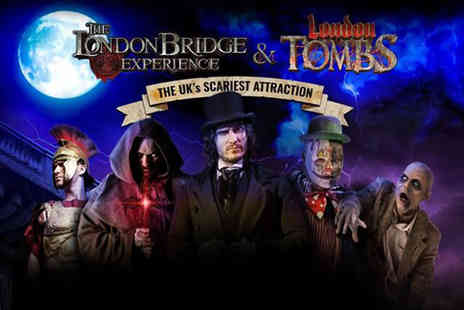 The London Bridge Experience - An adult or child ticket to The London Bridge Experience And London Tombs - Save 43%