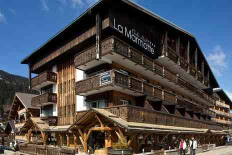 Hotel La Marmotte and Spa - Relaxation at the Foot of the Les Gets Slopes for two - Save 30%