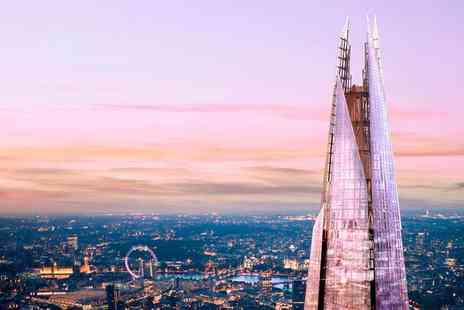 Shard Viewing Gallery Management - Exclusive Entry Time to The View From The Shard - Save 40%
