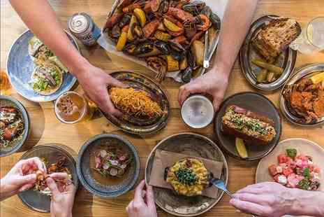 CLAW Carnaby - Four delicious sharing plates for two people - Save 50%