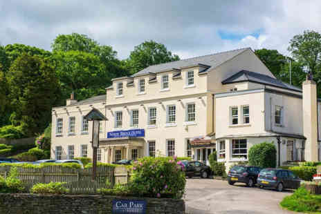 Newby Bridge Hotel - Overnight stay for two people with breakfast, Three course dinner each and leisure access - Save 42%