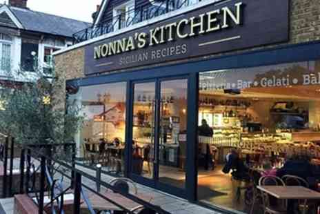 Nonnas Kitchen - Pizza or Pasta with Glass of Wine or Bottle of Beer for Up to Four - Save 50%