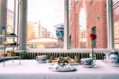 Victoria and Albert Marriott Hotel - Four Star Traditional or Sparkling Afternoon Tea for Two or Four - Save 58%